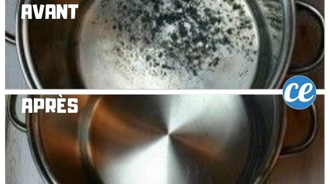 casserole cram e la meilleure astuce pour la r cup rer rapidement. Black Bedroom Furniture Sets. Home Design Ideas