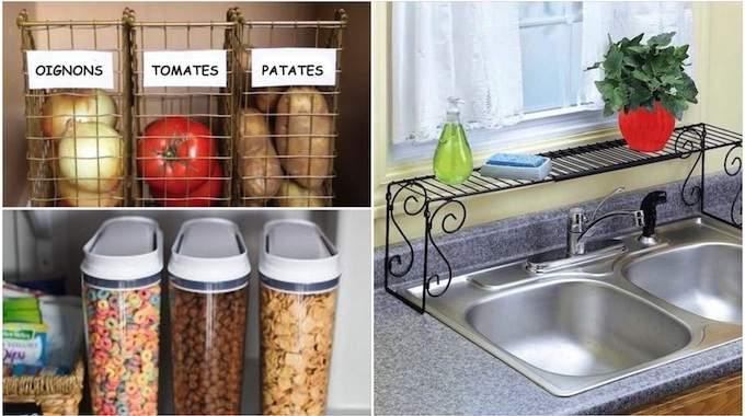 21 Astuces Géniales Et Pas Chères Pour Mieux Organiser Votre Cuisine.