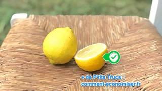 comment nettoyer les meubles en paille avec du citron