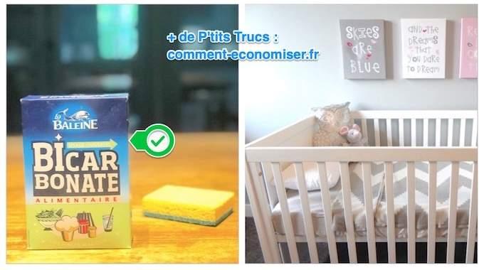 Comment Nettoyer Le Lit De Bébé ? L'Astuce Naturelle De Mon Pédiatre.