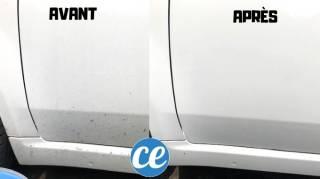 comment nettoyer la carrosserie en douceur