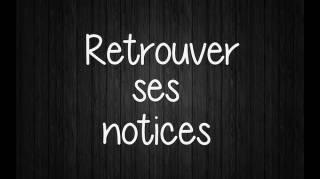 Mesnotices.fr pour Facilement Retrouver un Mode d'Emploi Perdu !