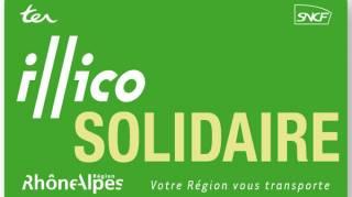 La Carte illico Solidaire pour Voyager Moins Cher en Rhône-Alpes.