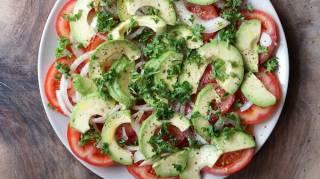 Une Recette de Salade Facile et Rapide pour le Midi.