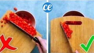 Voici La Bonne Façon D'Utiliser Votre Planche à Découper