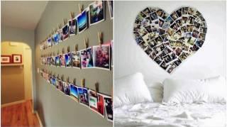 17 Idées originales Pour Accrocher Ses Photos à La Maison
