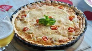 Quiche à la Tomate : la Recette Facile et Pas Chère.