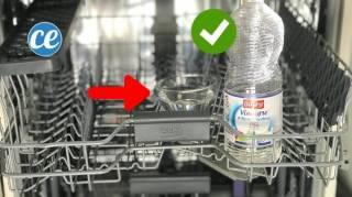 astuce pour degraisser et nettoyer le lave vaisselle avec du vinaigre blanc