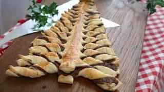Délicieuse et Prête en 10 Min : La Recette du Sapin de Noël Fourré au Nutella Maison