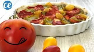 recette tarte aux tomate et moutarde à l'ancienne