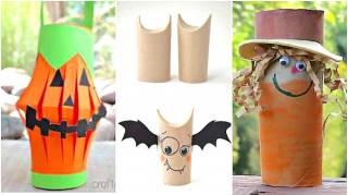 13 Idées Pour Halloween Avec Des Rouleaux De Papier Toilette