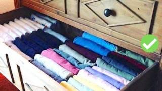 Comment Plier Ses Vêtements Avec La Méthode Marie Kondo
