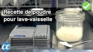 Poudre Pour Lave-Vaisselle maison