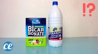 3 Choses à Savoir Avant De Mélanger Du Bicarbonate Avec Du Vinaigre Blanc