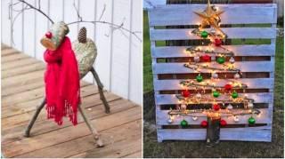 50 Super Idées Déco De Noël Extérieur