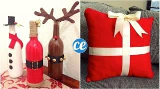 20 Objets Recyclés En Super Déco De Noël