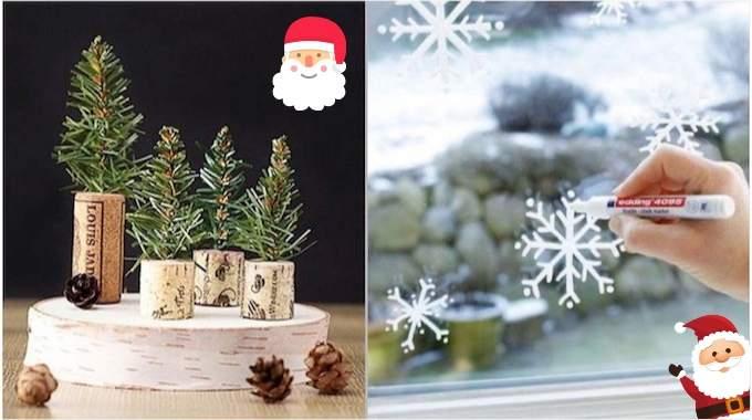 37 Décorations De Noël De Dernière Minute (Faciles Et Pas Chères).