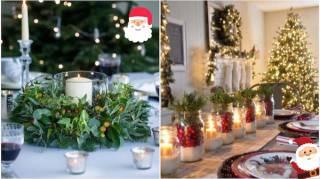 65 Idées Déco Pour Une Superbe Table De Noël
