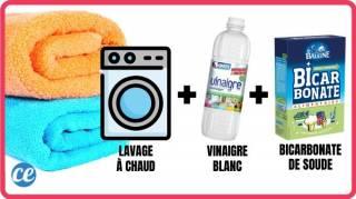 Eliminer odeur de moisi sur serviette qui pue