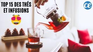 Les 15 Meilleurs Thés & Infusions Pour La Santé