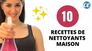 10 Recettes Magiques De Nettoyants Faits Maison