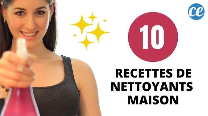 10 Recettes Magiques De Nettoyants Faits Maison.
