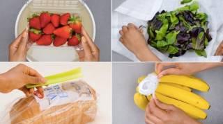 7 astuces pour conserver les aliments plus longtemps