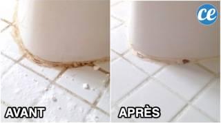 L'Astuce MAGIQUE Pour Nettoyer les Joints de Carrelage SANS Javel