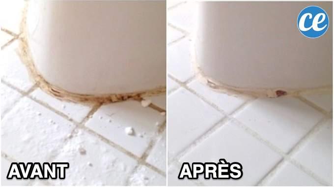 Joints De Carrelage Noircis ? L'Astuce Incroyable Pour Les Blanchir SANS Javel.