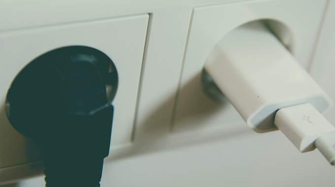 La prise coupe charge de batterie pour consommer moins d'électricité.