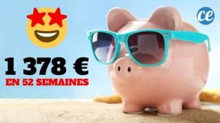Lancez-Vous Dans le Défi Des 52 Semaines Pour Économiser 1 378 €