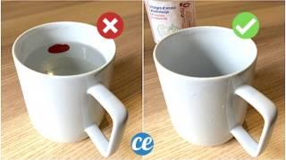 L'Astuce Magique Pour Enlever Une Étiquette Sur La Vaisselle