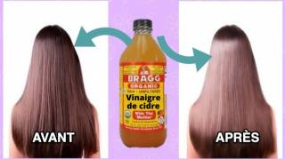 4 Astuces Vinaigre de Cidre Pour Des Cheveux Sublimes