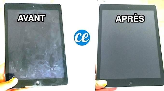 iPad Tout Gras ? Voici Comment Bien Nettoyer Votre Écran Facilement.