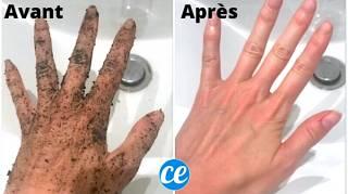 L'Astuce Pour Nettoyer Facilement Ses Mains Après le Jardinage
