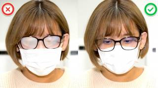 Port du Masque : 5 Astuces Efficaces Pour Éviter la Buée Sur Vos Lunettes