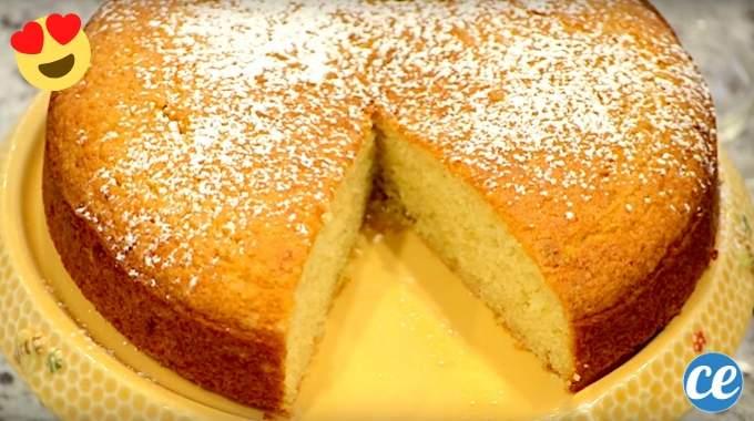 Gâteau Au Yaourt SANS Farine : La Délicieuse Recette Prête en 5 Min.