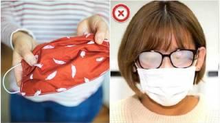 Comment Faire Son Masque en 1 Min, Éviter la Buée, et Bien le Désinfecter
