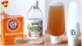 Comment Laver Facilement Vos Cheveux Avec Du Bicarbonate Et Du Vinaigre