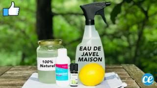 Eau de Javel Maison : La Recette Facile et 100% Naturelle