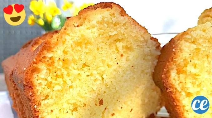 Le Gâteau Nature Sans Yaourt De Ma Grand Mère Facile Et Moelleux