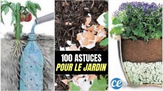 100 Astuces Pour le Jardin Qui Facilitent la Vie