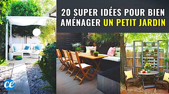 20 Super Idées Pour Bien Aménager un Petit Jardin.