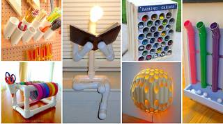 47 Façons Étonnantes d'Utiliser les Tuyaux en PVC