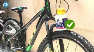 L'Astuce Pour Nettoyer Son Vélo Plein de Boue Facilement