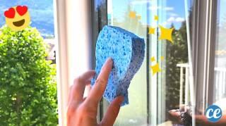 L'Astuce Pour que les vitres Restent Impeccables