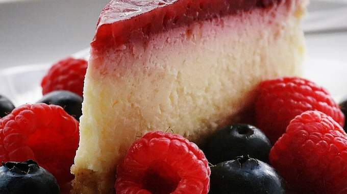 Une recette cheesecake New Yorkais.