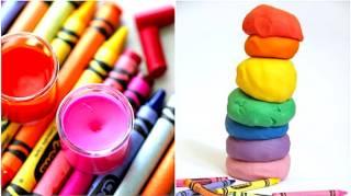 27 Façons de Réutiliser les Vieux Crayolas Ne Ratez Pas la N°17