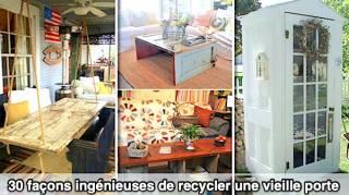 30 Façons Ingénieuses de Recycler Une Vieille Porte