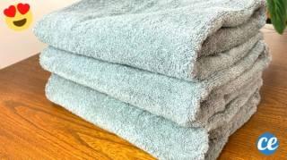 L'Astuce Pour Éliminer l'Odeur de Moisi Sur les Serviettes & Vêtements